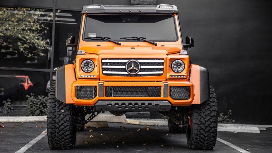 Мандариновый Mercedes-Benz G550