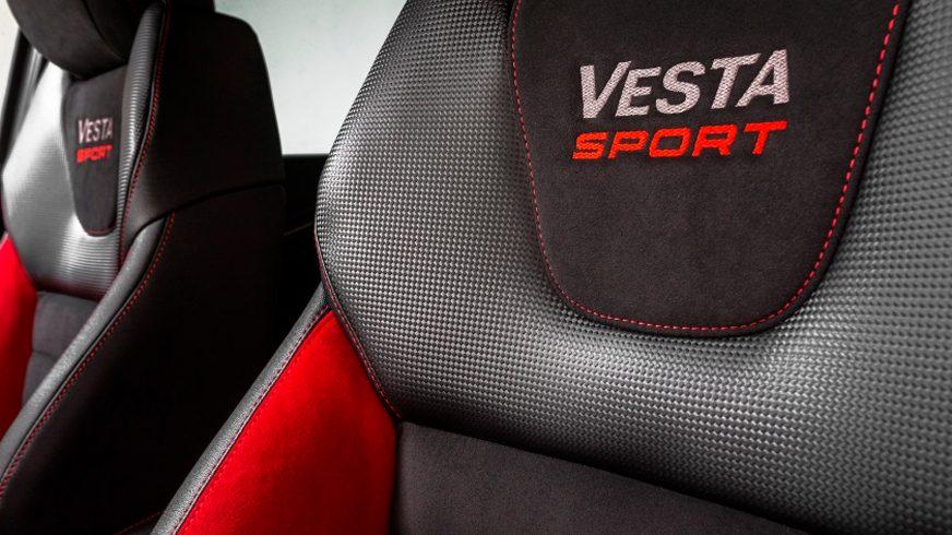 Первые изображения интерьера Lada Vesta Sport