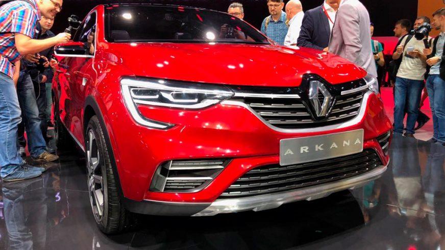 Қарсы алыңыздар, Renault Arkana!