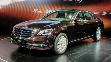 Двухлитровый Mercedes-Benz S-класса