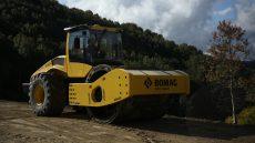 Ускоритсяли процесс строительства дорог с BOMAG BW226 DI-5?