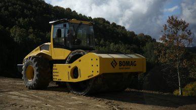 Ускорится ли процесс строительства дорог с BOMAG BW226 DI-5?