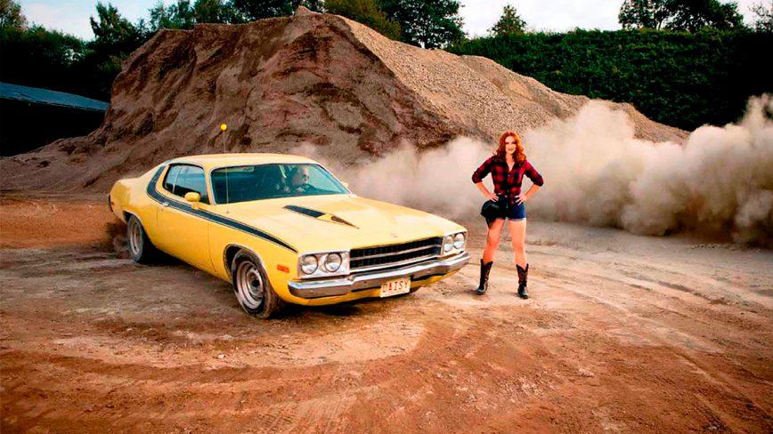 Календарь «Девушки и легендарные американские автомобили – 2019»