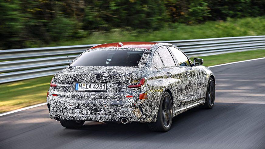 BMW дразнит новой «тройкой» G20