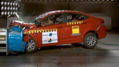 Hyundai Accent провалил краш-тест
