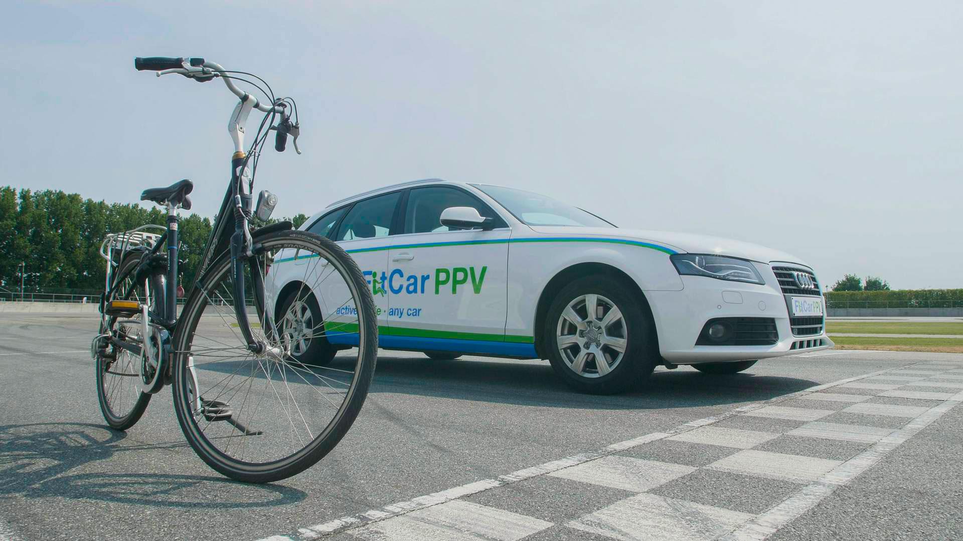 Велосипедные педали вместо педали газа