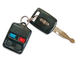 Lincoln Aviator - 2004 - ключ