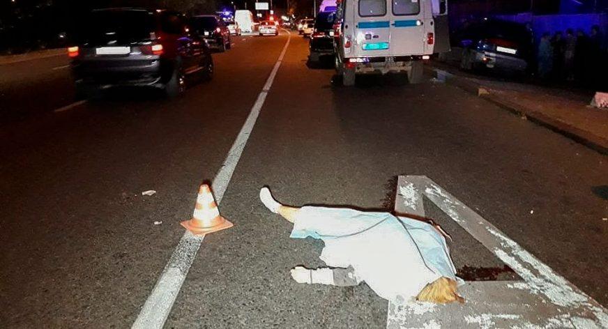 Женщине оторвало ногу в ДТП в Алматы