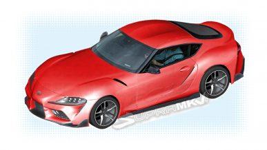 Новую Toyota Supra рассекретили с помощью каталога запчастей