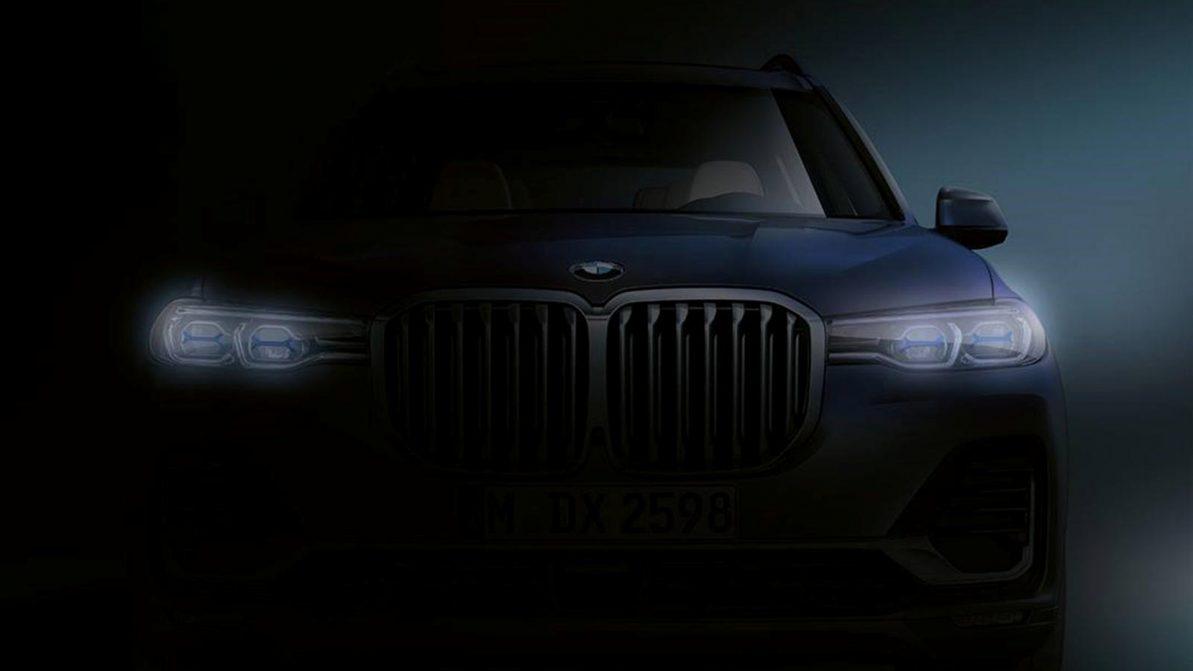 BMW показала очередной тизер X7