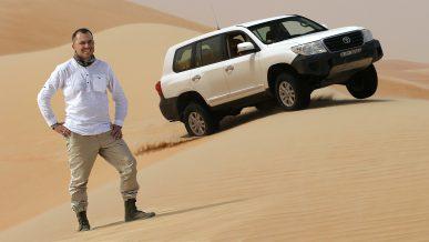 Как не застрять на песчаной дюне, или Мастер-класс от Ардавичуса