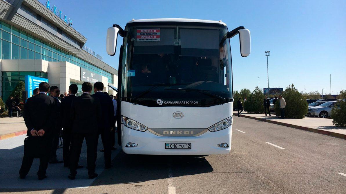 Актау стал первым городом в РК с автобусами на электротяге