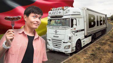 Сколько зарабатывает дальнобойщик из Казахстана в Германии?