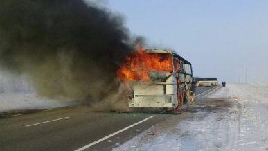 Cуд вынес приговор водителям автобуса, в котором сгорели 52 узбекистанца