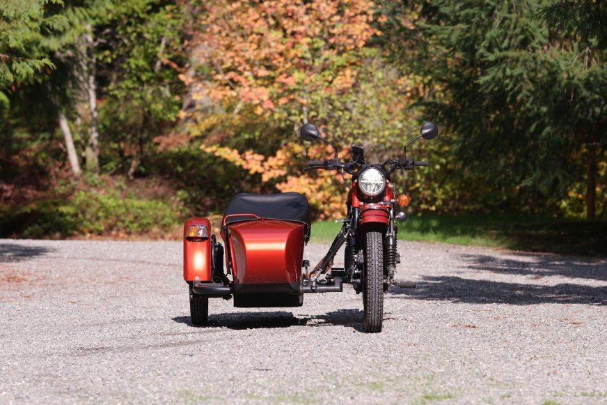 «Урал» превратили в электромотоцикл