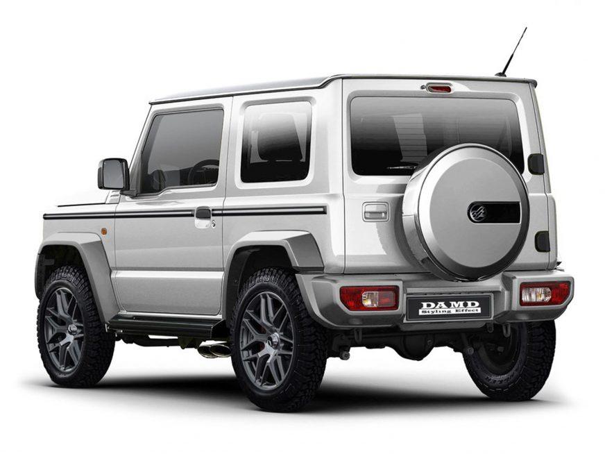 Новый Suzuki Jimny можно превратить в гелик или дэф