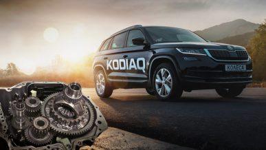 Škoda Kodiaq и робот DSG7 в одном видеообзоре