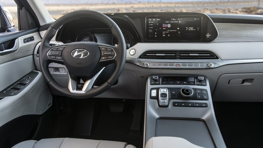 Hyundai раскрыла подробности о Palisade