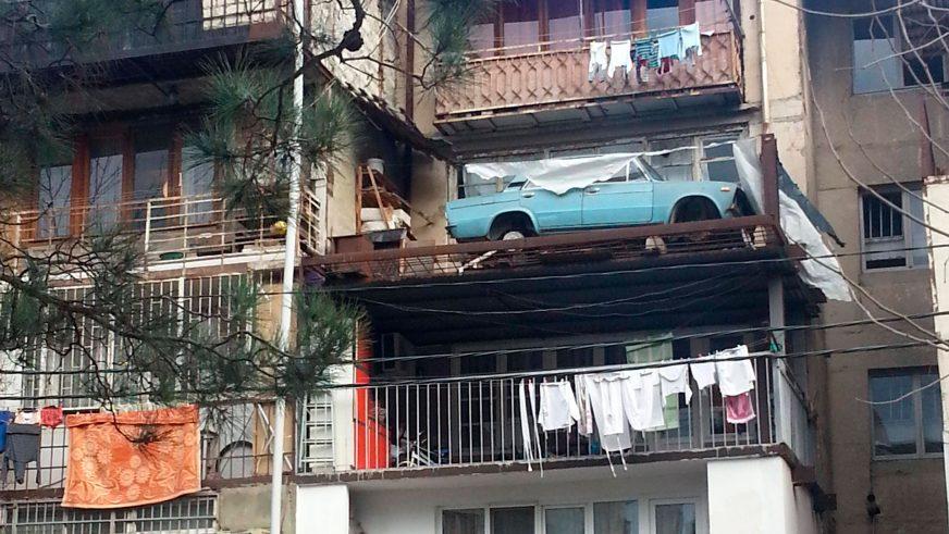 «Шестёрка» простояла на балконе хрущёвки в Тбилиси 27 лет