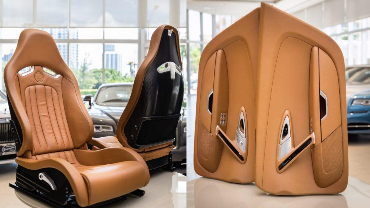 Интерьер Bugatti Veyron выставлен на продажу