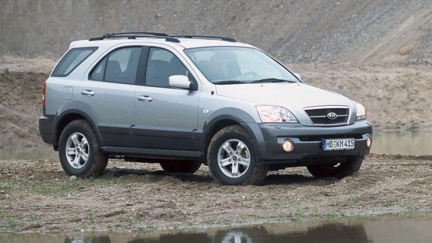 2002 год — Kia Sorento первого поколения