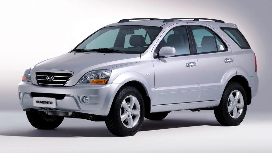 2005 год — Kia Sorento первого поколения (рестайлинг)