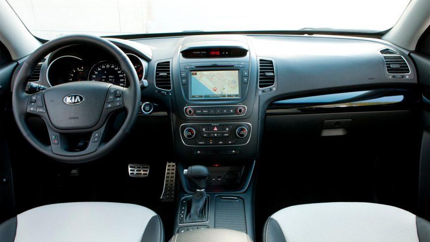 2012 год — Kia Sorento второго поколения (рестайлинг)