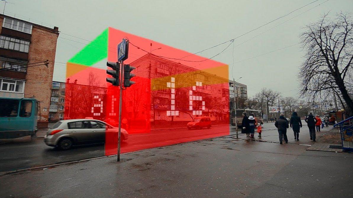 В Алматы могут появиться лазерные пешеходные переходы