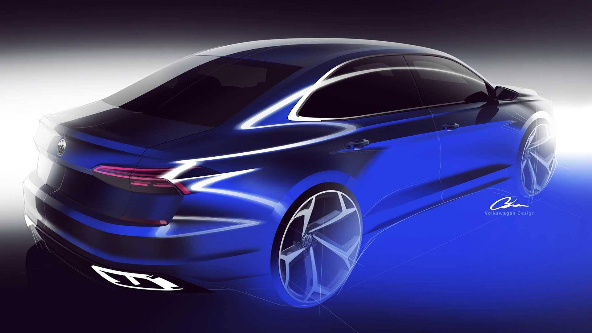 Так будет выглядеть новый Volkswagen Passat