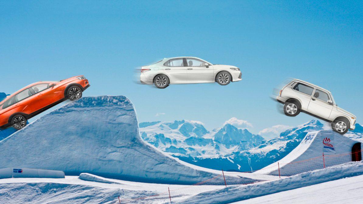Авторынок в ноябре: Toyota Camry, Lada Vesta и Lada 4x4