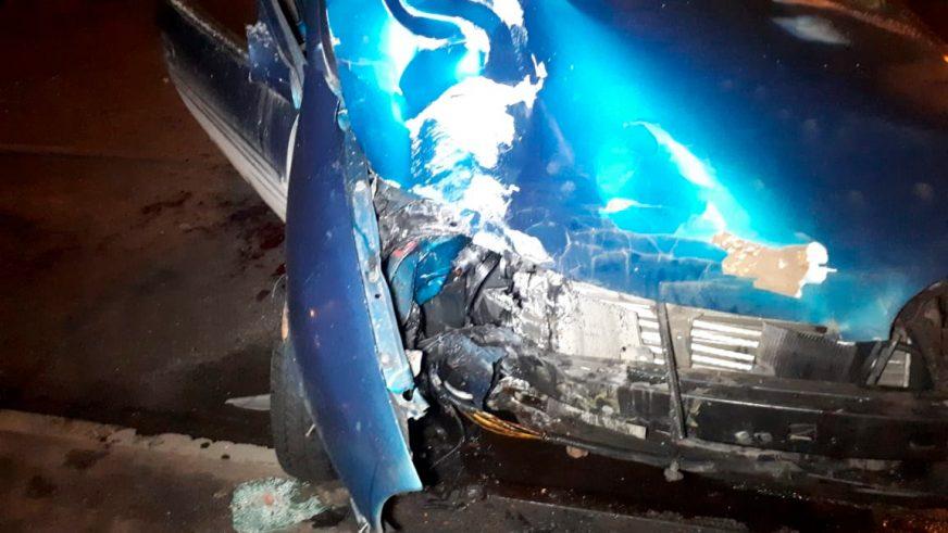 Двое парней угнали Opel и попали в реанимацию
