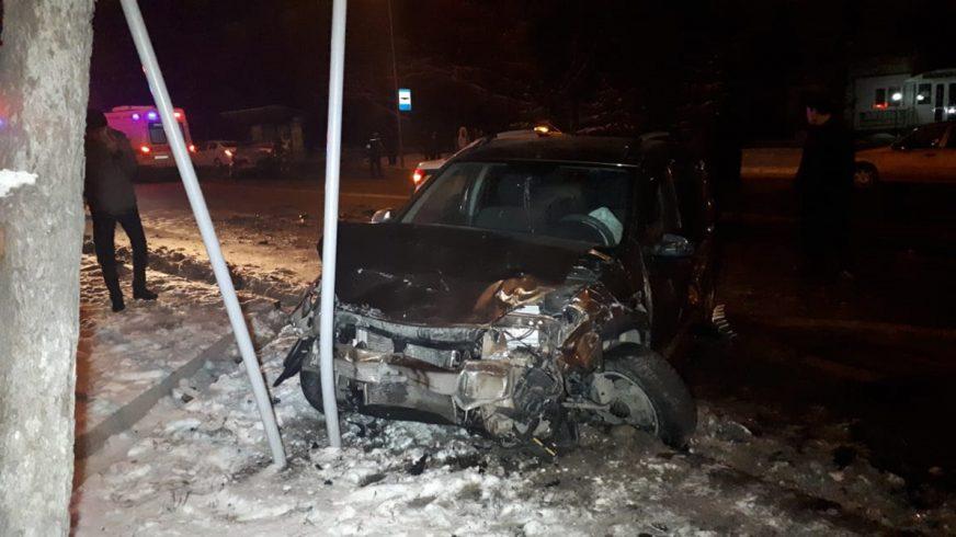 Массовое ДТП в Алматы: погиб водитель BMW
