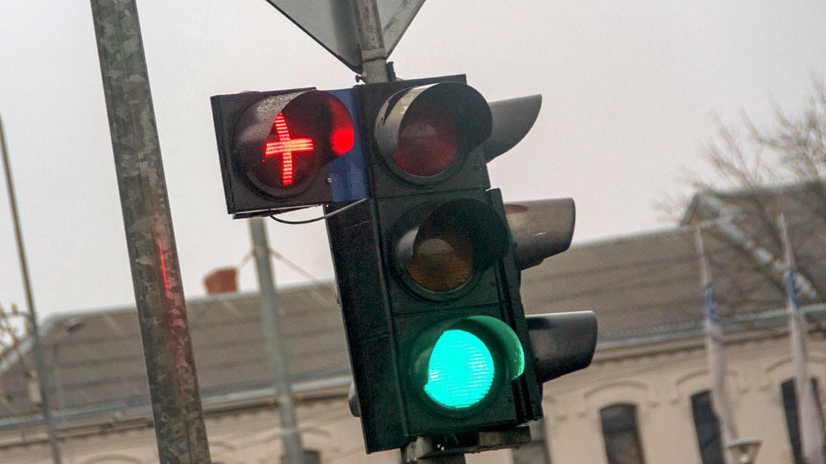 Плюсики на светофорах снизили количество аварий в Астане