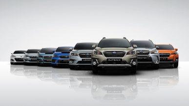 Автомобили Subaru