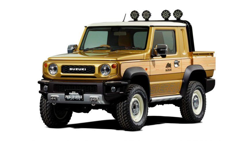Suzuki Jimny доработали с оглядкой на гелик