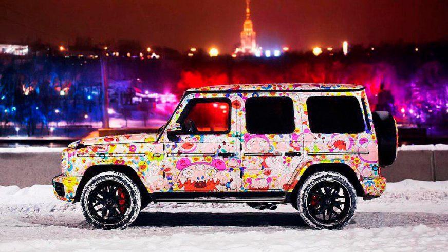 Цветочный гелик из России
