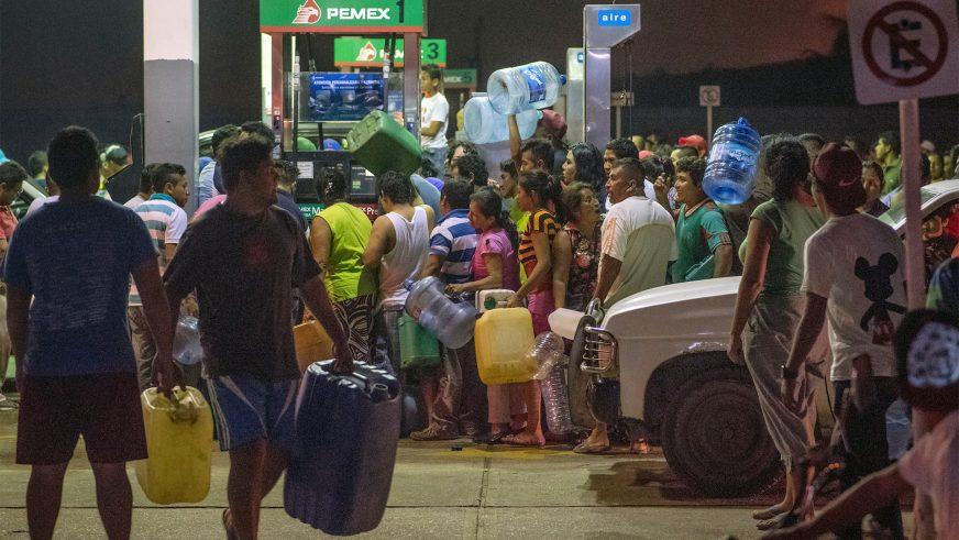 Руководство Мексики отказывается признавать наличие дефицита бензина