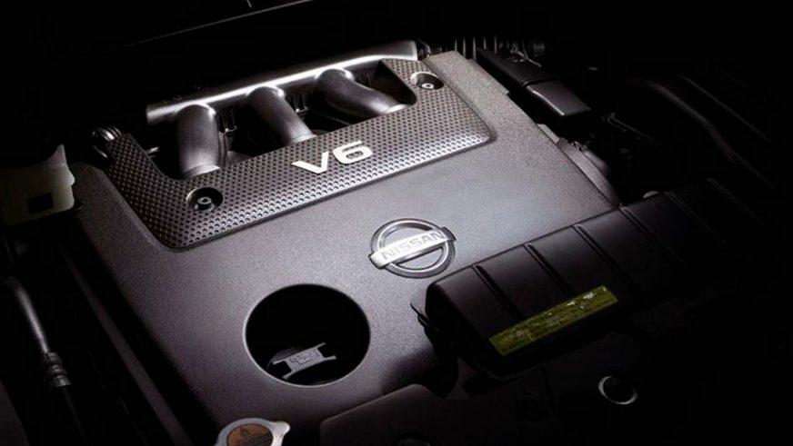 Nissan Murano - 2014 - двигатель