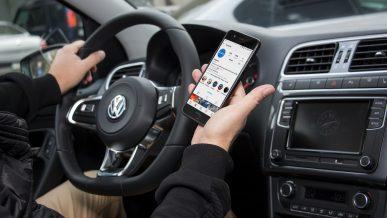 Телефоном за рулём стали пользоваться меньше