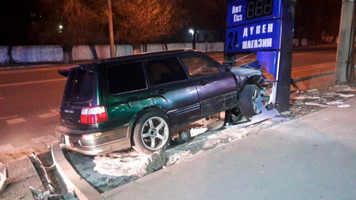 Угонщик Subaru Forester далеко не уехал