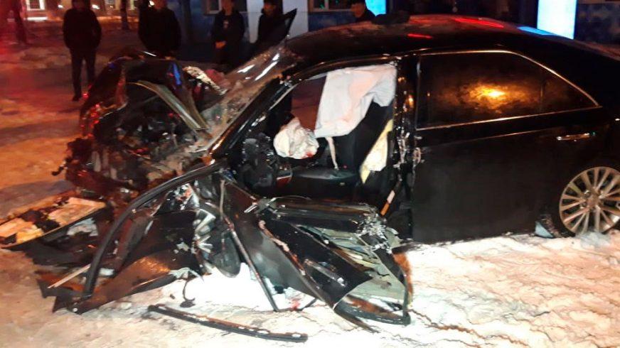 Шестеро пострадали в ДТП в Алматы