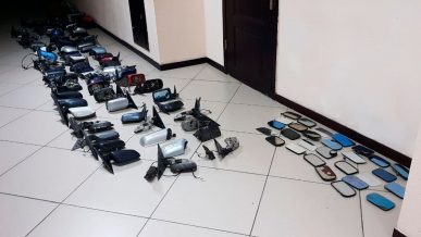 Более 100 боковых автозеркал обнаружили в Алматы на авторазборе