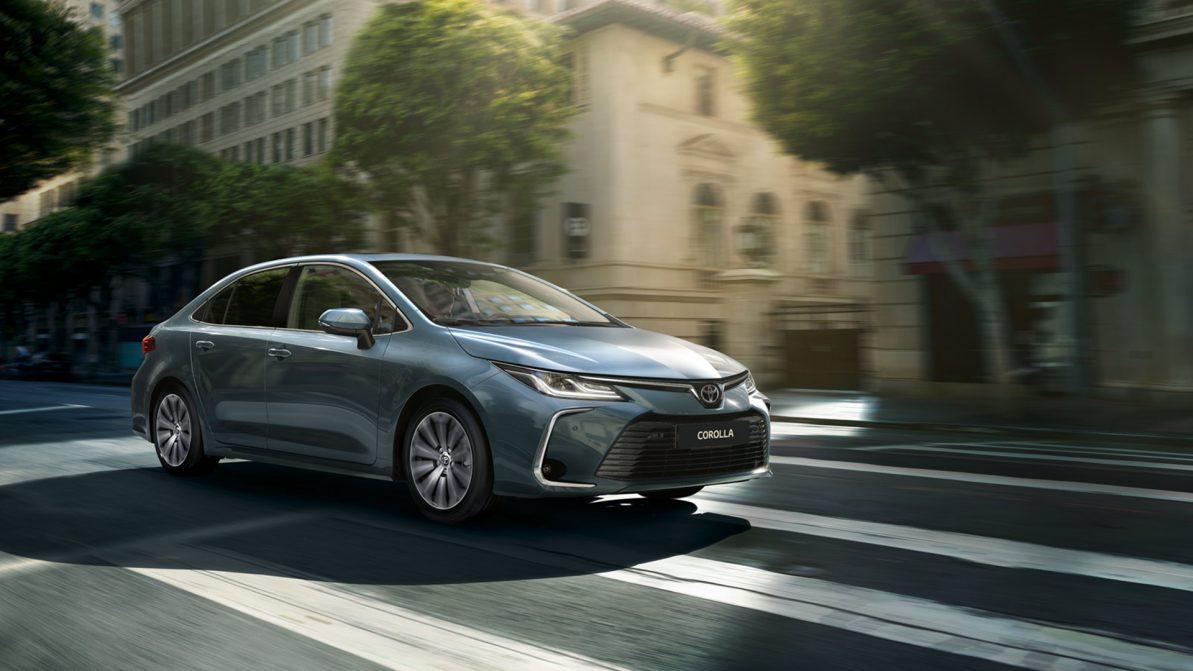 Toyota показала фото Corolla для Казахстана