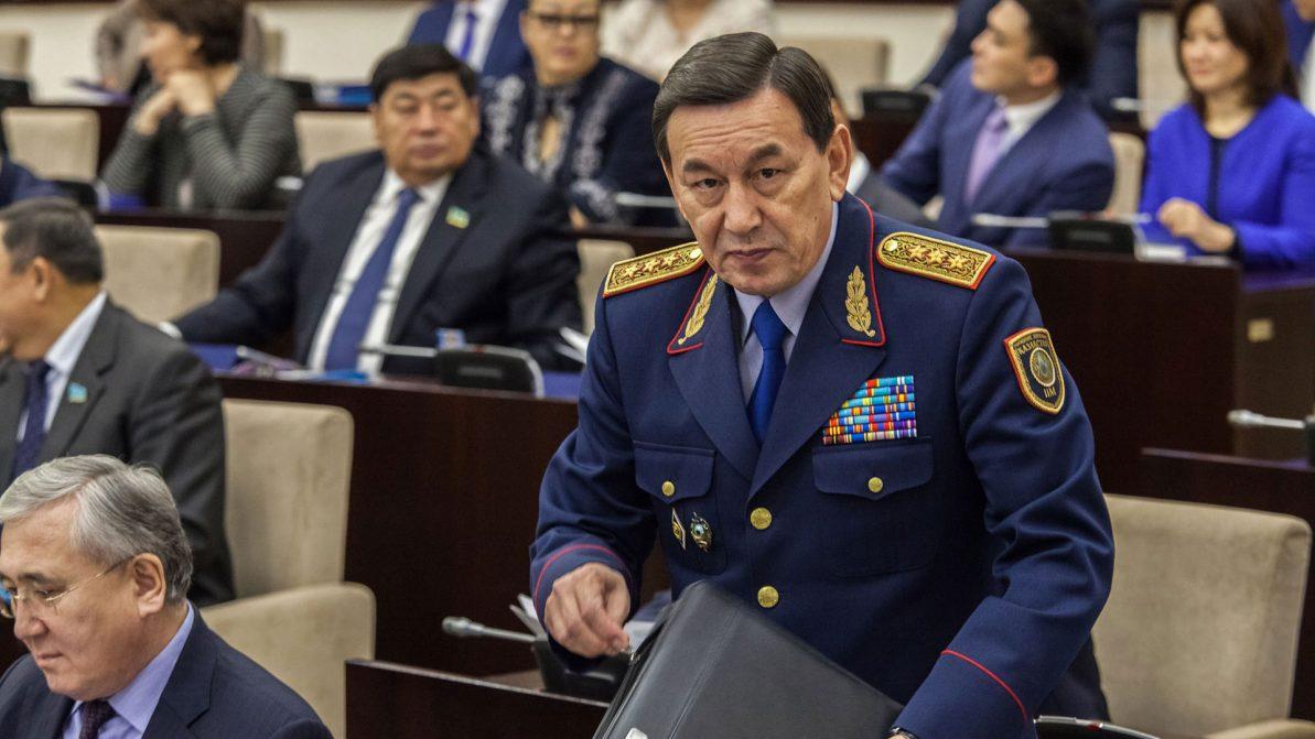 В МВД РК сменили министра