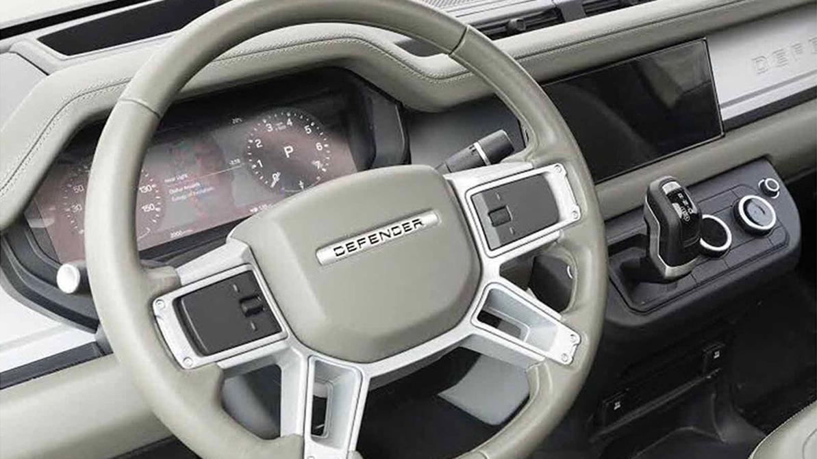Салон нового Land Rover Defender слили в Сеть