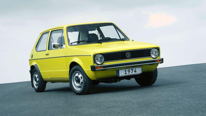 1974 год — Volkswagen Golf I