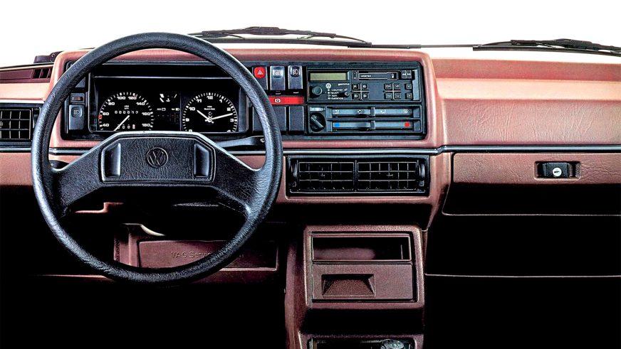 1983 год — Volkswagen Golf II