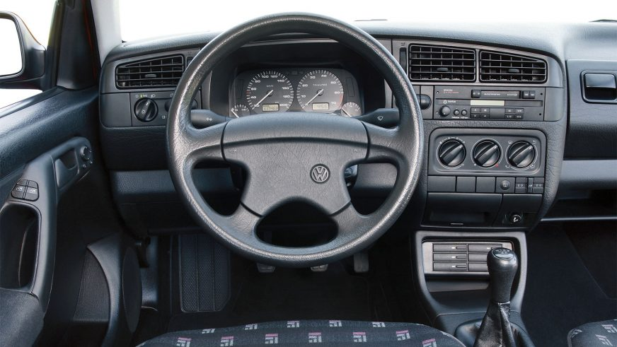 1991 год — Volkswagen Golf III