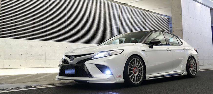 Toyota Camry 70 от японских тюнеров