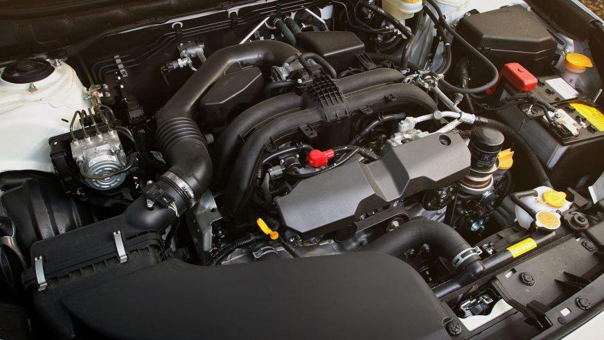 Subaru Outback - 2015 - двигатель